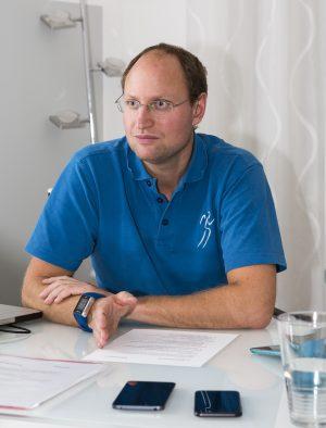 Matthias schätzt den Service, den er seinen Patienten durch appointmed bieten kann