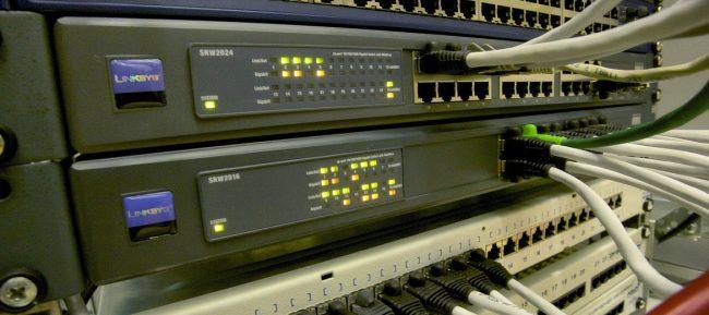 Hardware in einem Rechenzentrum