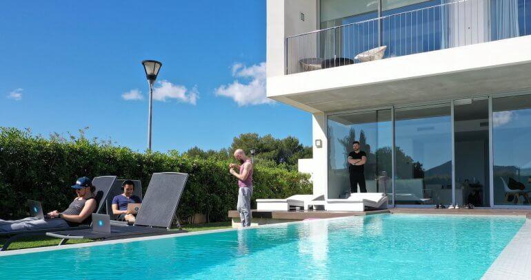 Das appointmed Hauptquartier in Alcudia, Mallorca