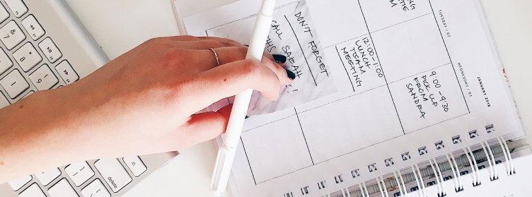 Online Terminplaner oder Stift & Papier?