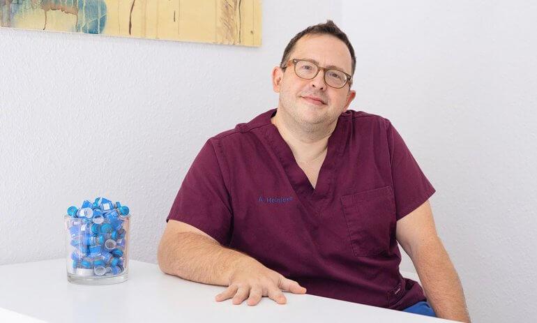 Chirurg Alexander Heinicke im Interview